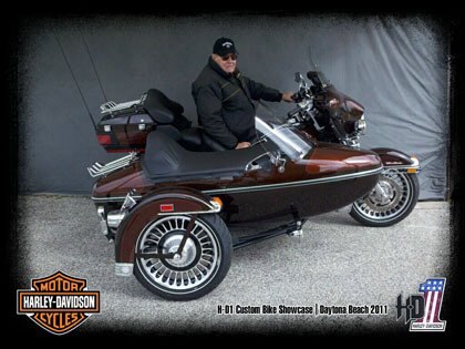 Best Sidecar @ Daytona Ride-In 2011